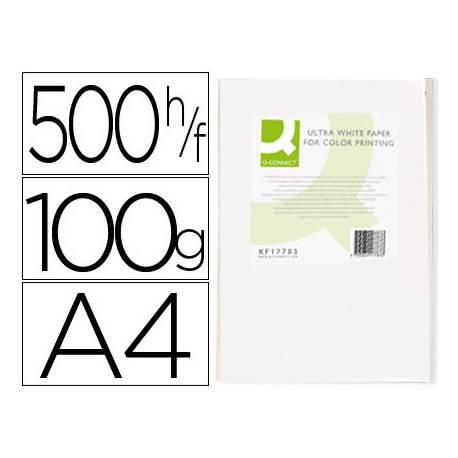 Papel fotocopiadora Q-Connect Ultra White DIN A4 100 Gramos