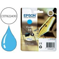 Cartucho Epson 16 color Cian C13T16224010