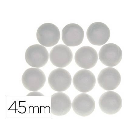 Bolas de Porexpan 45 mm color blanco itKrea