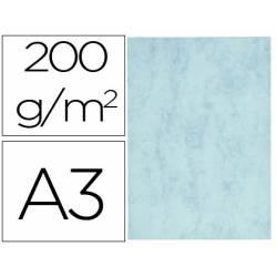 Cartulina marmoleada DIN A3 Azul