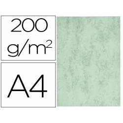 Cartulina marmoleada DIN A4 Verde