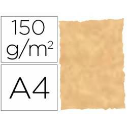 Papel pergamino DIN A4 troquelado Ocre parchment