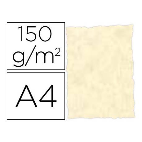 Papel pergamino DIN A4 troquelado Topacio parchment