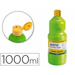 Tempera liquida Giotto verde cinabrio 1000 cc