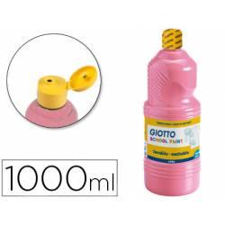 Tempera liquida Giotto color rosa 1000 cc