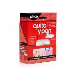 Velcro autoadhesivo redondo Plico quita y pon