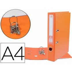 Archivador de palanca 52 mm Liderpapel Din A4 naranja