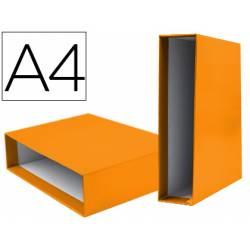 Caja archivador Liderpapel de palanca Din A4 documenta Naranja