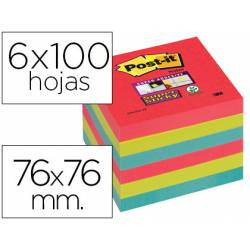 Post-it ® Bloc notas quita y pon 76 x 76 mm