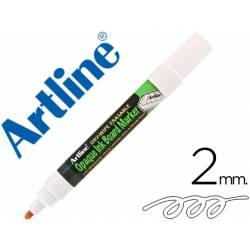 Rotulador Artline pizarra EPD-4 blanco