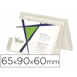 Portatarjetas de visitas Archivo 2000 de plastico