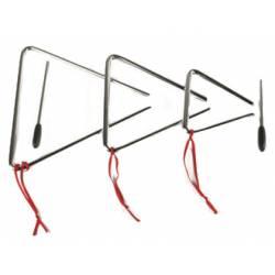 Triangulo grande de acero marca Amaya