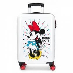 Maleta de cabina rígida Mickey Magic dots 36 cm x 55 cm x 20 cm ABS