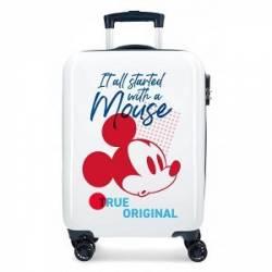 Maleta de cabina rígida Mickey Magic original 55x36x20cm ABS