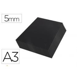Carton pluma Liderpapel doble cara negro Din A3