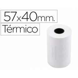 ROLLO SUMADORA EXACOMPTA TERMICO 57 MM X 40 MM 55 G/M2