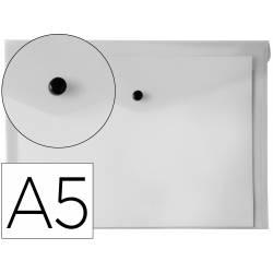 Carpeta sobre Liderpapel broche transparente Din A5