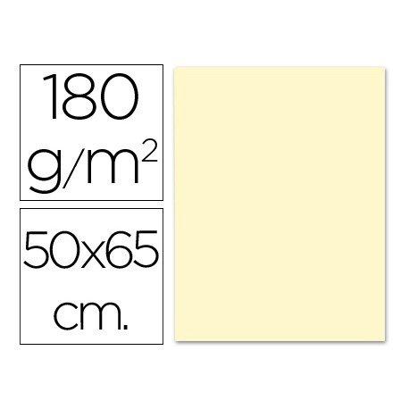 Cartulina Liderpapel crema 180 g/m2