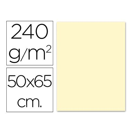 Cartulina Liderpapel 240 g/m2 crema