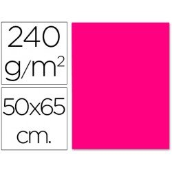 Cartulina Liderpapel color fucsia 240 g/m2