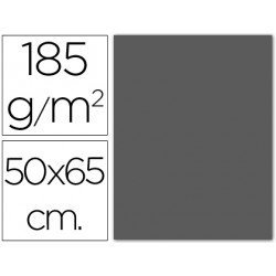 Cartulina Guarro gris plomo 500 x 650 mm 185 g/m2
