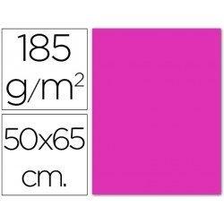 Cartulina fucsia Guarro 500 x 650 mm 185 g/m2