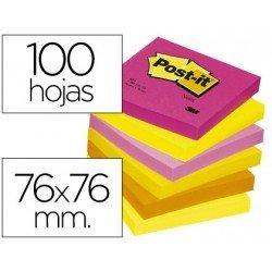 Bloc quita y pon Post-it ® colores surtidos