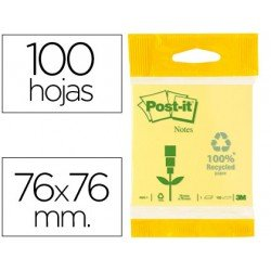Post-it ® Bloc quita y pon 76 x 76 mm
