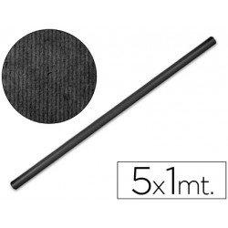 Bobina papel kraft Liderpapel 5 x 1 m negro