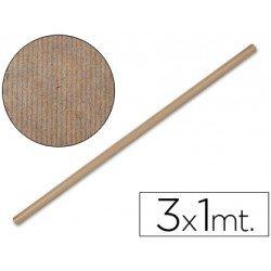 Bobina papel kraft Liderpapel 3 x 1 m marron
