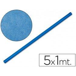 Bobina papel kraft Liderpapel 5 x 1 m azul