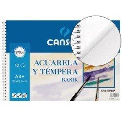 Bloc de dibujo Canson Din A4 espiral Acuarela