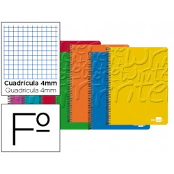 Bloc Liderpapel folio Write cuadricula 4 mm