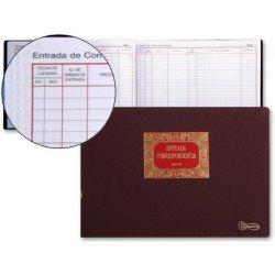 Libro de Entrada y Salida Correspondencia tamaño Folio Miquelrius