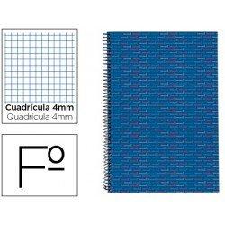Bloc Liderpapel espiral serie Multilider azul