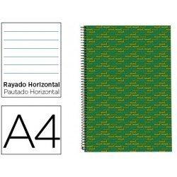 Bloc Din A4 espiral Microperforado Tapa forrada serie Multilider Liderpapel