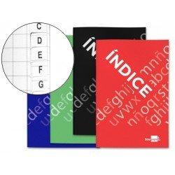 Libreta Liderpapel con Indice Flexible