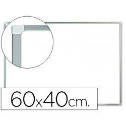 Pizarra Blanca Melamina con marco de aluminio 60x40 Q-Connect