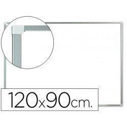 Pizarra Blanca Melamina con marco de aluminio 120x90 Q-Connect