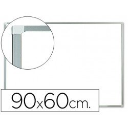 Pizarra Blanca Lacada Magnetica marco de aluminio 90x60 Q-Connect