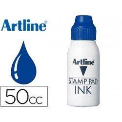 Tinta tampon Artline azul de 50 cc