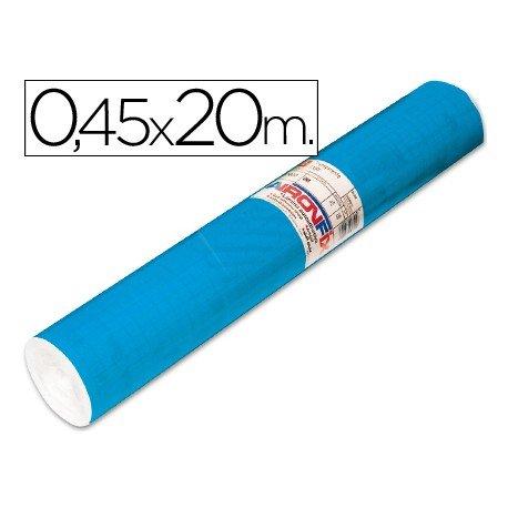 Aironfix Rollo Adhesivo 45cm x 20mt Unicolor Azul Mate Medio