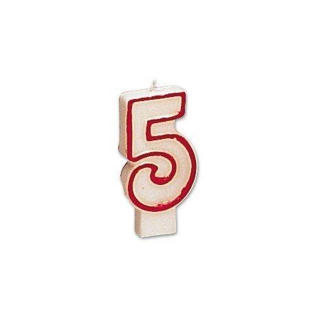 Velas numero 5