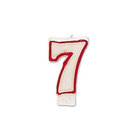 Velas numero 7