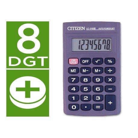 Calculadora Bolsillo Citizen LC-310N 8 digitos
