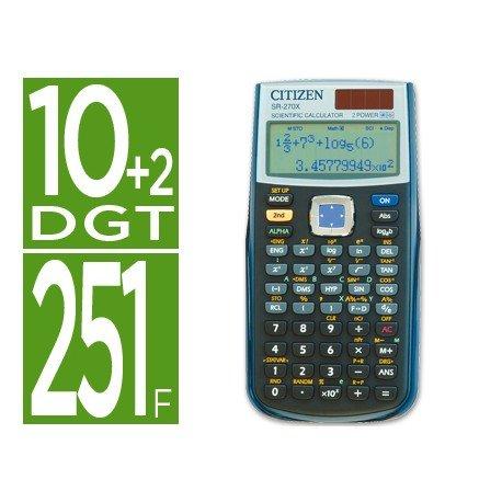 Calculadora Cientifica Citizen SR-270X 10+2 digitos