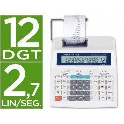 Calculadora Impresora Citizen CX-123N