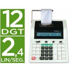 Calculadora Impresora Citizen CX-121N 12 digitos
