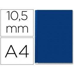 Tapa de Encuadernación Cartón Leitz A4 Azul 71/105 hojas