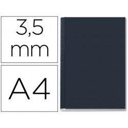 Tapa de Encuadernación Cartón Leitz A4 Negra 36/70 hojas